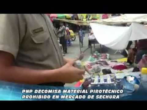 02-01-13  Pnp Decomisa Productos Pirotecnicosen Mercado Sechura Clips Tv Anal 8 Sechura.mp4 video