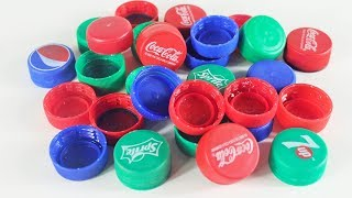 Diy-Arts-and-Crafts-With-Plastic-Bottle caps | Cool idea | Diy-Home-Project