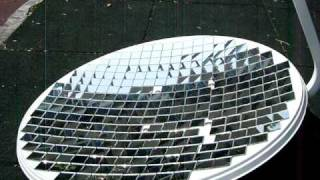 PARABOLIC DISH MIRROR - PARABOLOID DIY REFLECTOR Solar death ray satellite antenna