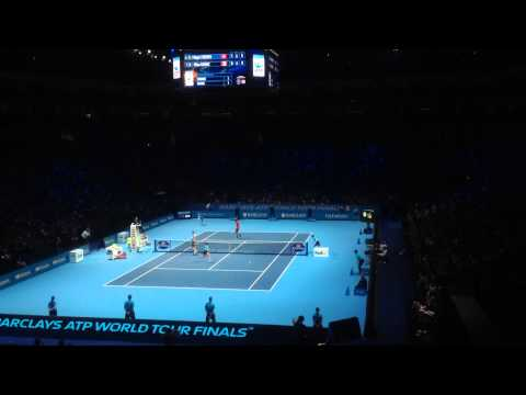 Roger Federer vs Milos Raonic - 2014 ATP World Tour Finals - Tie Break
