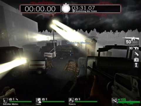 Thompson Hrvat's Death Baron [L4D Survival Map] Video