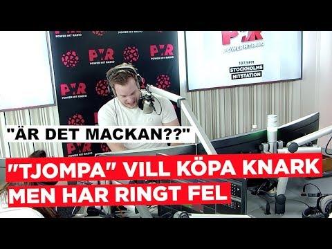 """""""TJOMPA"""" VILL KÖPA KNARK MEN RINGER FEL #1"""