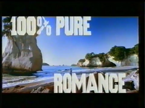 New Zealand Tourism TV ad (100% Pure) ft. Crowded House song