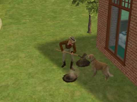 Sims 2 how to find bigfoot and bring him home V2!