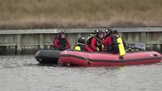 League City Fire Department Underwater Marine Team