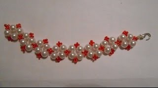 БРАСЛЕТ ИЗ БИСЕРА И БУСИН К ВАШЕМУ НАРЯДУ/ Bracelet with beads to your outfit