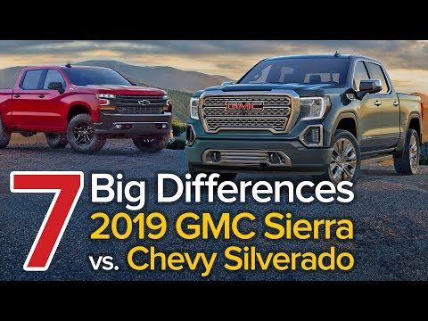 7 Differences Between the 2019 GMC Sierra & Chevrolet Silverado: The Short List