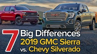 7 Differences Between the 2019 GMC Sierra & Chevrolet Silverado: The Short List