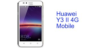 Huawei Y3 II 4G Mobile Specification [INDIA]