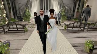 Jack & NaVette Second Life Wedding - 5.15.18