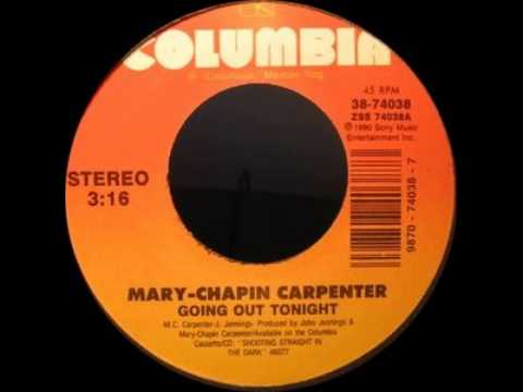 Mary Chapin Carpenter - Going Out Tonight
