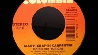 Watch Mary Chapin Carpenter Going Out Tonight video