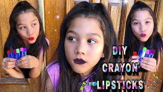 DIY: Lipstick Out Of CRAYONS | Txunamy