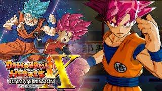 THE WRATH OF SUPER SAIYAN GOD GOKU!!! | Dragon Ball Heroes Ultimate Mission X Gameplay!