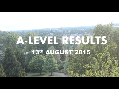 A-Level Results Day 2015| Rejected from Cambridge