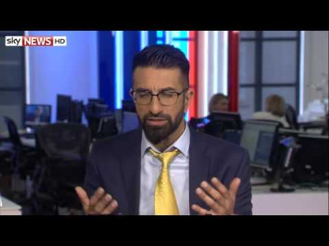 Asghar Bukhari on Sky News - Is ISIS a threat to the UK?