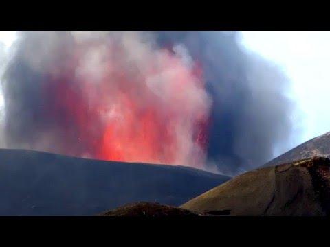 地獄の様な場所!?2年ぶりのエトナ火山(世界遺産)噴火中!