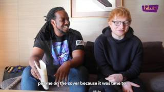 Ed Sheeran talks on fitness, his Shape of You music video, GQ Magazine and more!