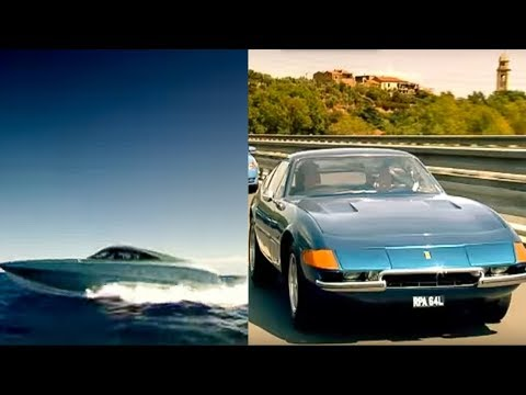Ferrari Daytona Vs. Xrs 48 Boat Part 2 - Top Gear - Bbc
