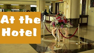 English Conversation: At the Hotel