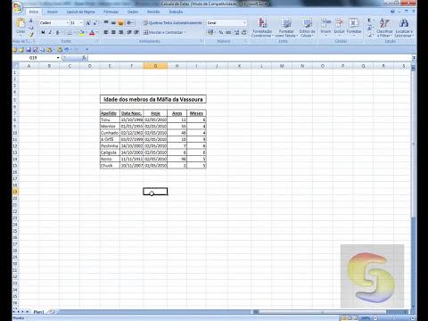 Excel 2007 - Super Dicas - Cálculo com Datas
