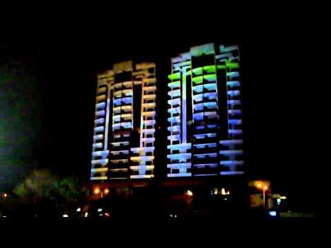 Proyeccion en edificios, parque metropolitano La Sabana Costa Rica 1
