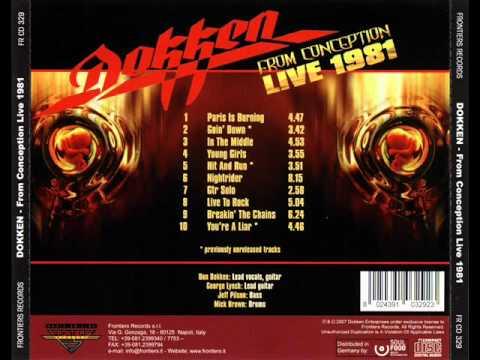 Dokken (George Lynch) - Guitar Solo Live 1981