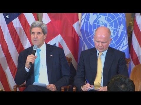 Kerry: No 'Cold war era' split over Ukraine