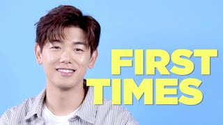 Eric Nam Tells Us About His First Times