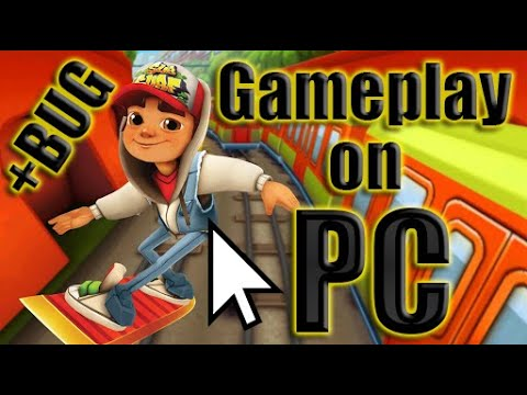 Subway Surfers Gameplay on PC | My record is 732355