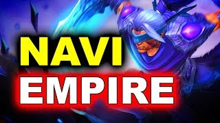 NAVI vs EMPIRE - SEMI-FINAL CIS - STARLADDER ImbaTV Minor 2 DOTA 2