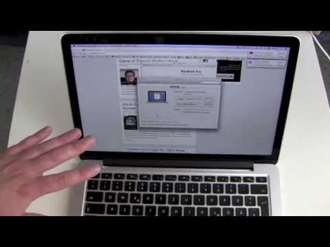 Retina MacBook Pro Review 13 inch Version