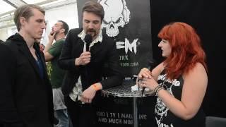 Royal Republic TBFM Interview Download Festival 2016