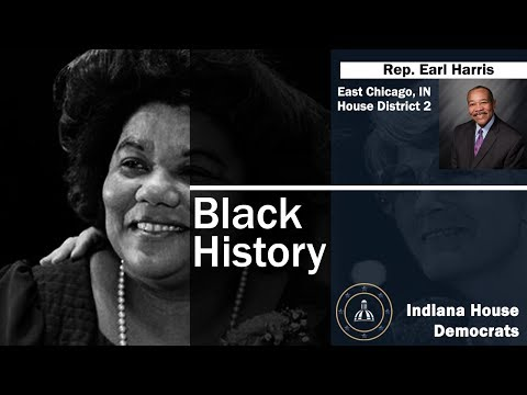 Black History: Rep. Harris Discusses Katie Hall, Julia Carson, and Bill Crawford.