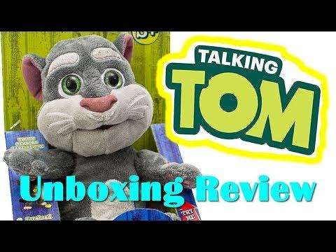RESEÑA: Talking Tom Peluche Interactivo Gato Tom