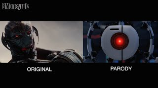 'Disney / Pixar's AVENGERS: Age Of Ultron': Side-By-Side With Original Trailer