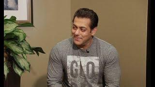 Salman Khan interviews with Reshma Dordi of Showbiz India TV
