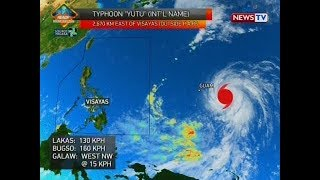 QRT Weather update as of 558 p.m. Oct. 23, 2018