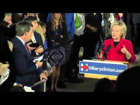 Hillary Clinton speaks out on income inequality