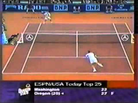 Pete Sampras great shots selection against Todd Martin (Paris indoor 1998 SF)
