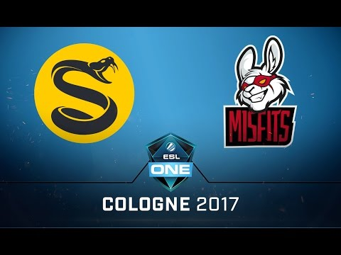 CS:GO - Splyce vs. Misfits [Train] Map 2 - Quaterfinal - ESL One Cologne 2017 NA Qualifier