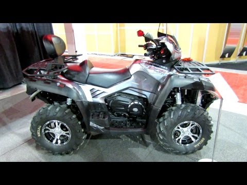 2013 Cfmoto Terralander 800 Utility ATV - 2012 Salon National du Quad - Laval. Quebec