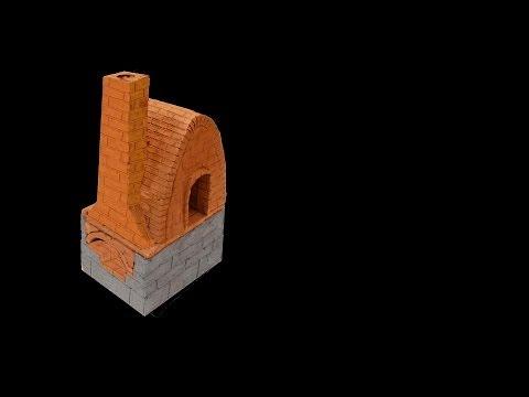 Placas refractarias para horno de ceramica