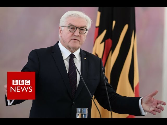 President Steinmeier Germany Faces Unprecedented situation - BBC News
