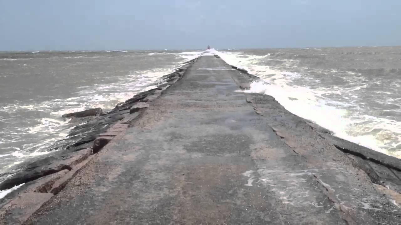 Surfside jetty trail end youtube for Surfside fishing report