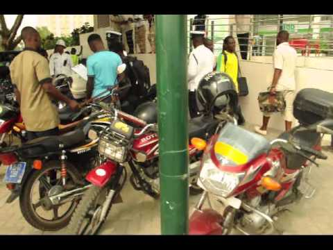 Accra Police MTTU swoop on unregistered motorbikes
