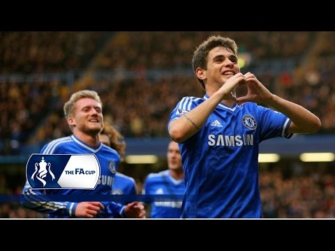 Oscar's amazing free-kick for Chelsea v Stoke | From The Archive