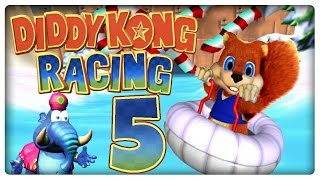 Let's Play DIDDY KONG RACING Part 5: Bluey das Walross = Dulli?