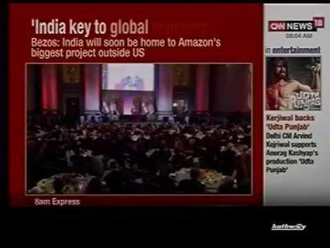 CNN NEWS 18 – Modi in USA