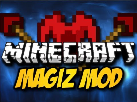 Minecraft Magiz Mod - MAGICAL STAFFS. ROBES. & MORE! (HD)